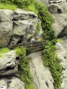 Feldberg bahn, Het echtpaar op de brug over de kloof