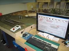 479 De nieuwe werkplek voor de trein dienstleider